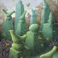 Topiary Birds (Available as Limited Edition Print)